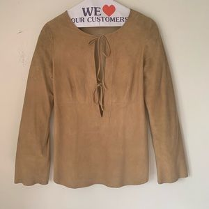 Suede Theory Tunic size Small